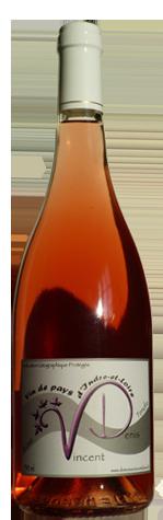 Vin Montlouis Rosé Tendre